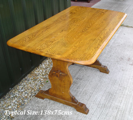 Ercol Refectory Pub Table 001