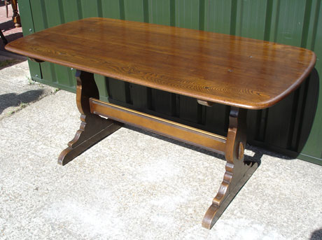 Ercol Refectory Pub Table 002