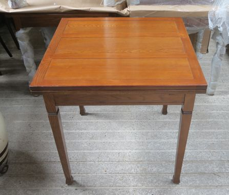 Image of Tapering Leg Draw leaf table